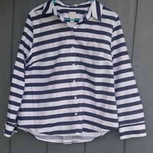 Chicos striped button down 2